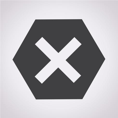 Error Icon  symbol sign