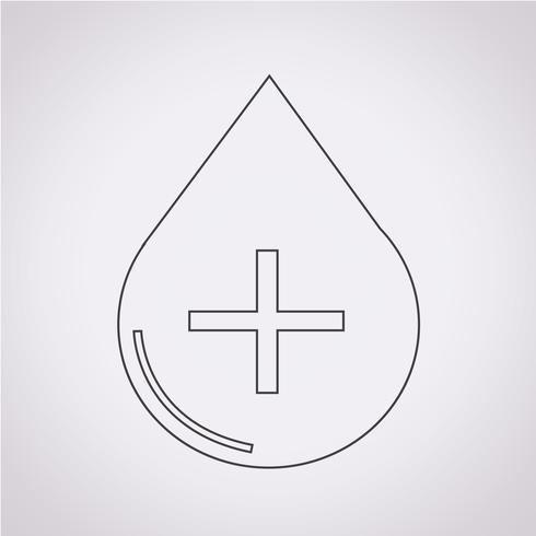Symbole de symbole de sang