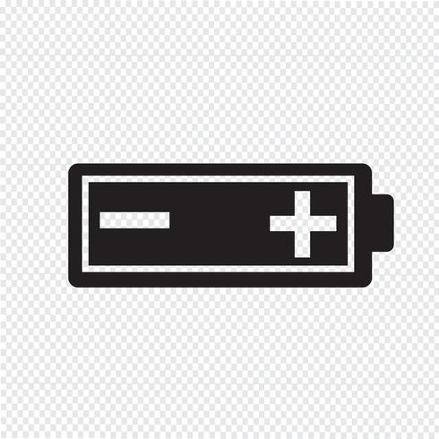 Battery icon  symbol sign vector