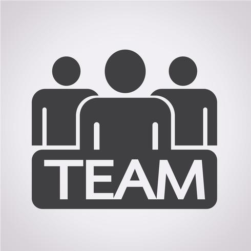 équipe symbole signe
