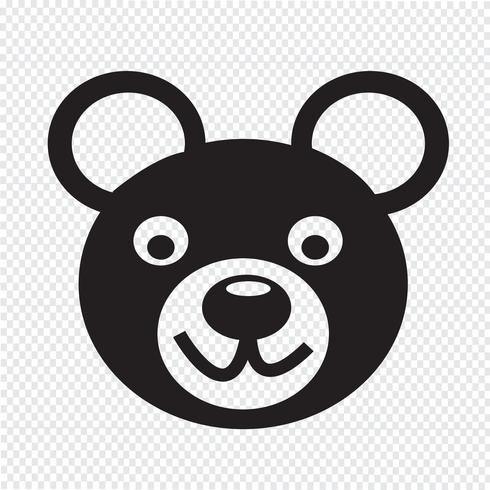 Bear Icon  symbol sign