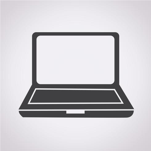 laptop pictogram symbool teken