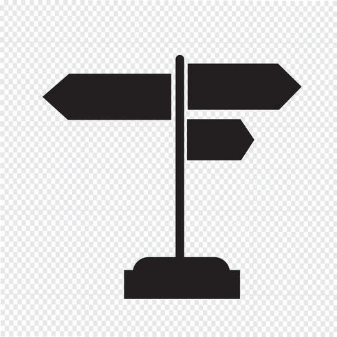 icono de señal signo de símbolo