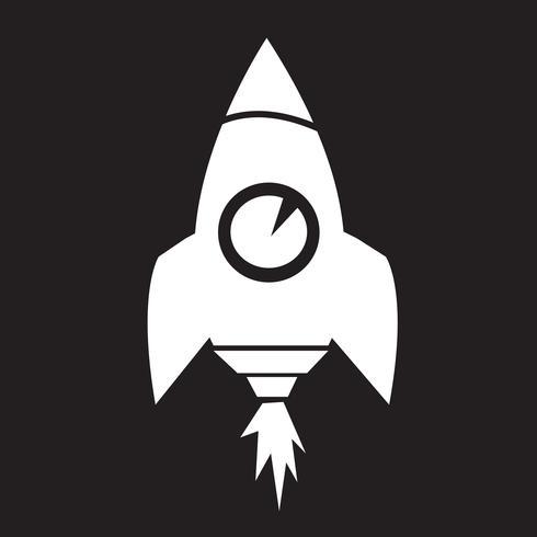 Raket pictogram symbool teken