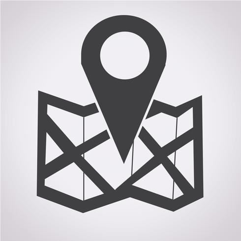 locatie pictogram symbool teken