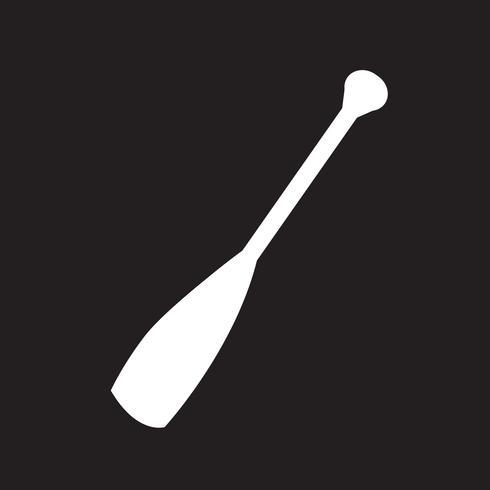 Paddle pictogram symbool teken