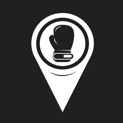 Map Pointer boxing icon
