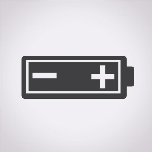 Batterij pictogram symbool teken
