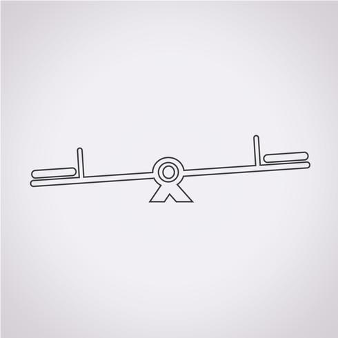 Schaukel Symbol Symbol Zeichen