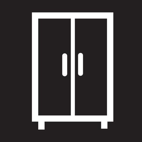Kleiderschrank Symbol Symbol Zeichen