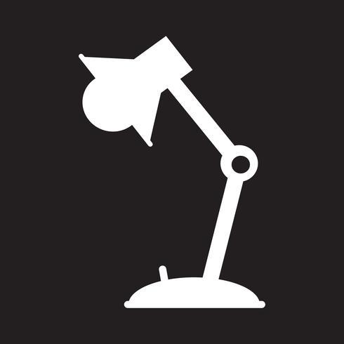 Sinal de ícone de lâmpada