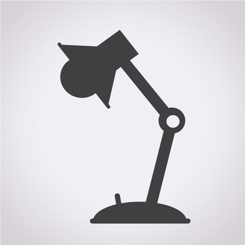 Lamp icon  symbol sign