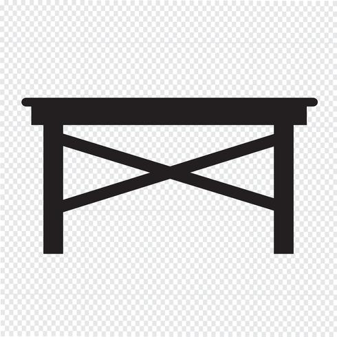 Tabella simbolo icona segno