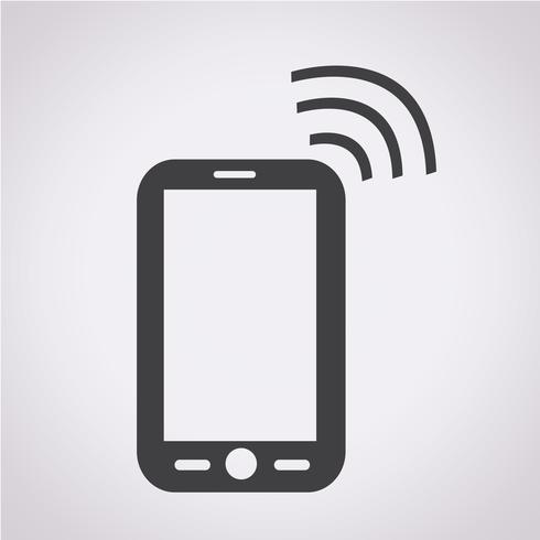 Symbole de téléphone icône