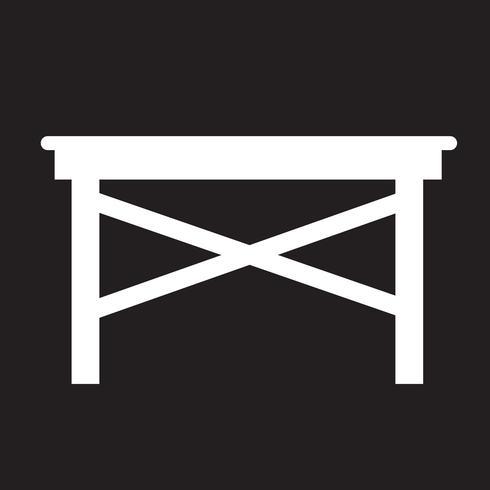 Tabell ikon symbol tecken