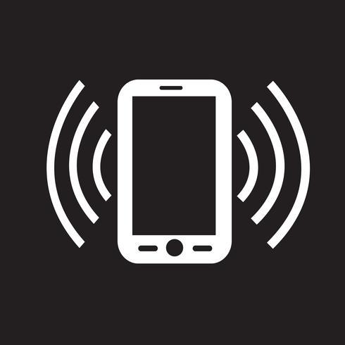 Sinal de símbolo de ícone de telefone