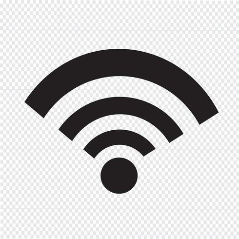 wifi ikon symbol tecken