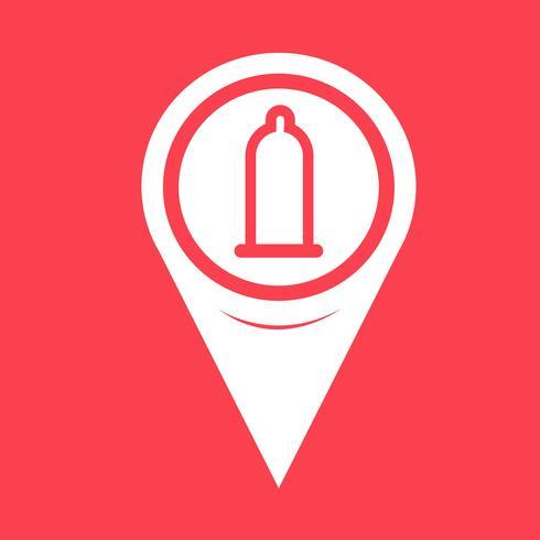 Map Pointer preservativo ícone