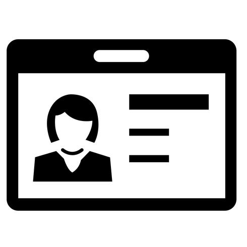 Personalausweis-Symbol