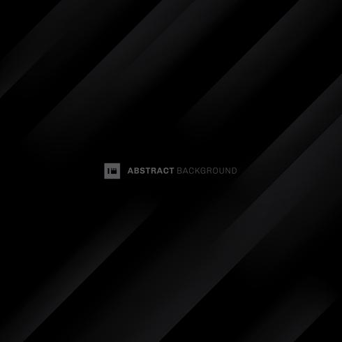 Abstract black and gray modern diagonal stripes background.