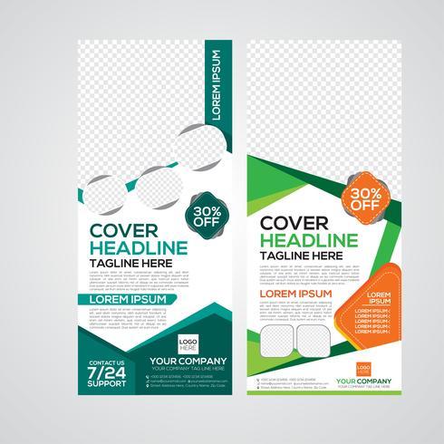 Modern roll up Print Banner Design