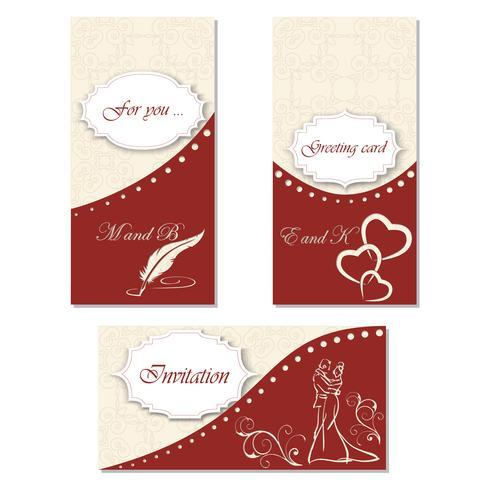 Imposta l'invito a una celebrazione. Design elegante per le tue vacanze, matrimonio, compleanno