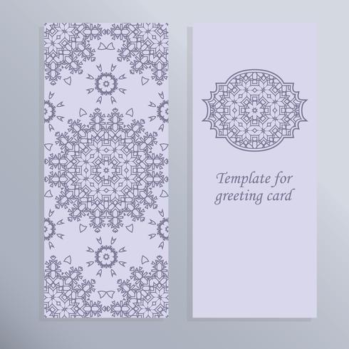Grußkarte für den Urlaub. Schönes Design für die Einladung.