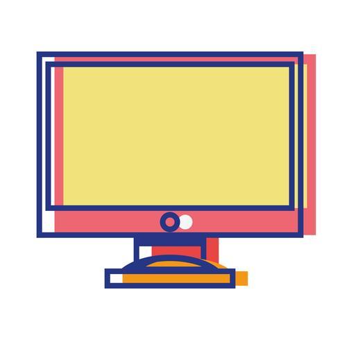schermo elettronico a colori tecnologia elettronica
