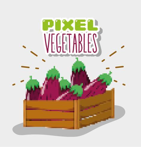 Dessins De Légumes Pixel Telecharger Vectoriel Gratuit