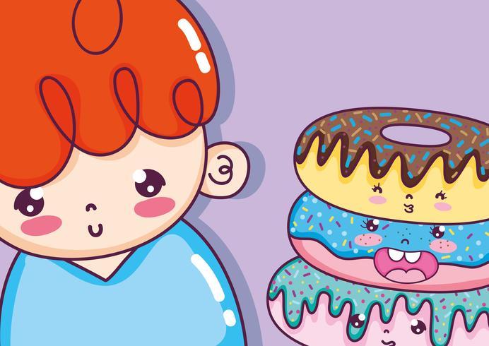 Cute boy cartoons