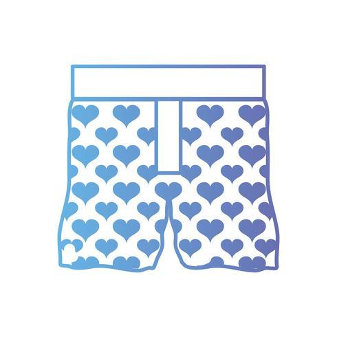 linea bel design della moda tessile boxer