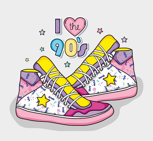 Eu amo o conceito dos anos 90