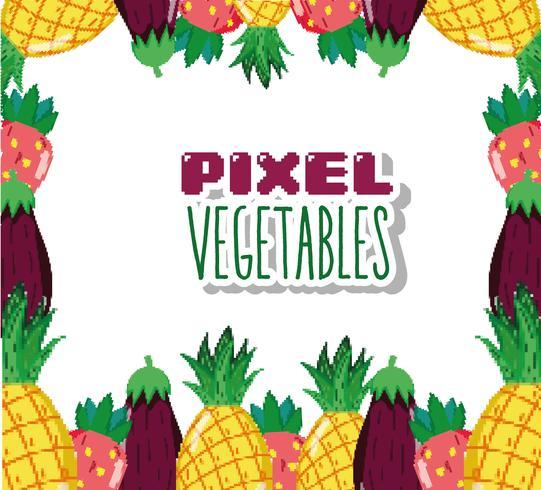 Pixel Vegetables Cartoons Download Free Vectors Clipart