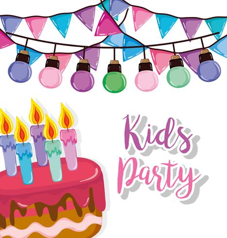 Kinder-Party-Cartoon