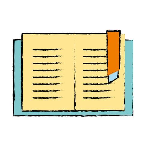 Libro de educación objeto para aprender y estudiar.