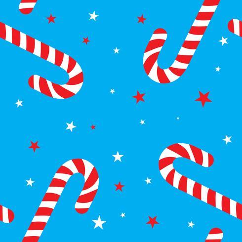 desenho de padrão de cana doce para a decoração de Natal, projeto de plano de fundo do bastão de doces, símbolo de Natal