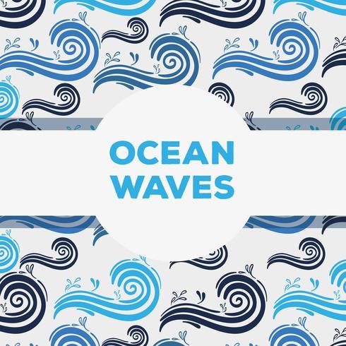 natural ocean waves background design