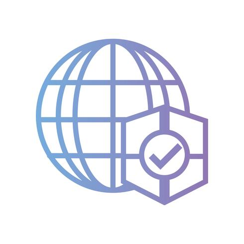 connexion globale de ligne avec protection de bouclier