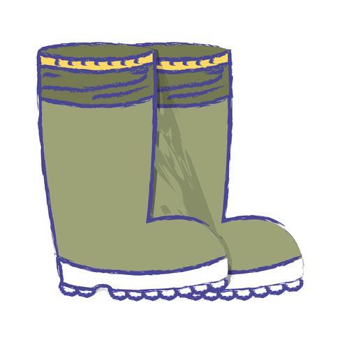 stivali di gomma si oppongono ai piedi di protezione