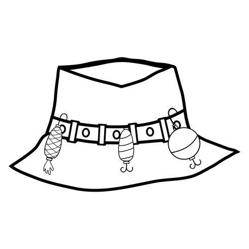 valore eccezionale nuovi oggetti prestazione affidabile pesca con lenza oggetto cappello da contadino, a Warker ...
