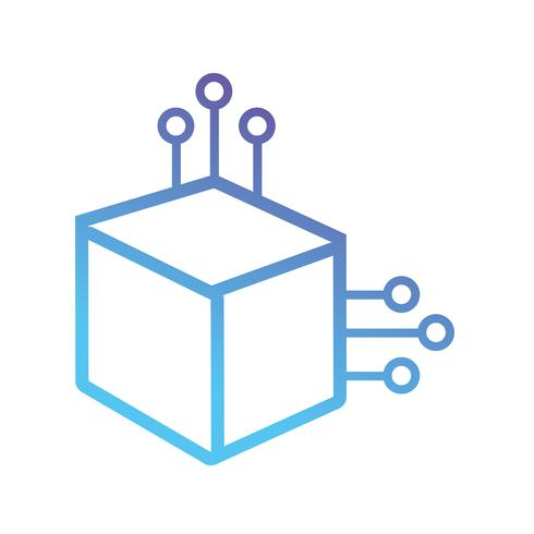 ligne cube puissance électrique