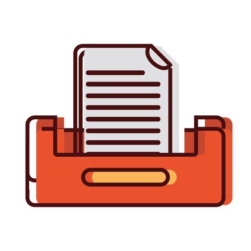 Aktenschrank-Design für Geschäftsdokumente