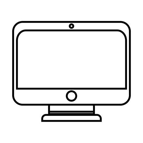 line monitor skärmteknologi med elektronisk utrustning