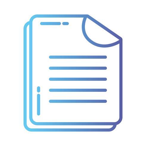 lijn bedrijfsdocument bedrijfsgegevensarchief