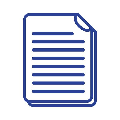 linea di informazioni sui documenti aziendali a informazioni aziendali