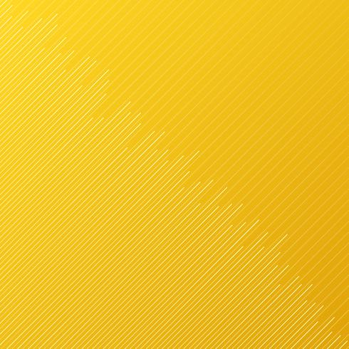Abstract minimal design stripe and diagonal lines pattern on yellow background and texture. vector