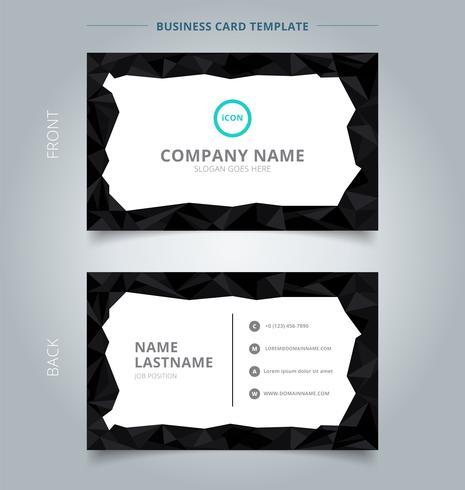 Vector Business Card Border Free Premium Vector Download