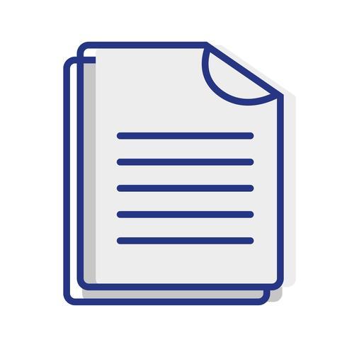 documento empresarial archivo de datos comerciales