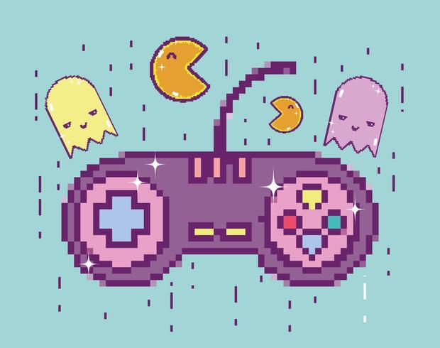 pixelerad retro gamepad
