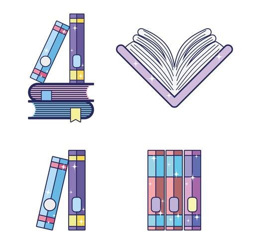Set di libri magici